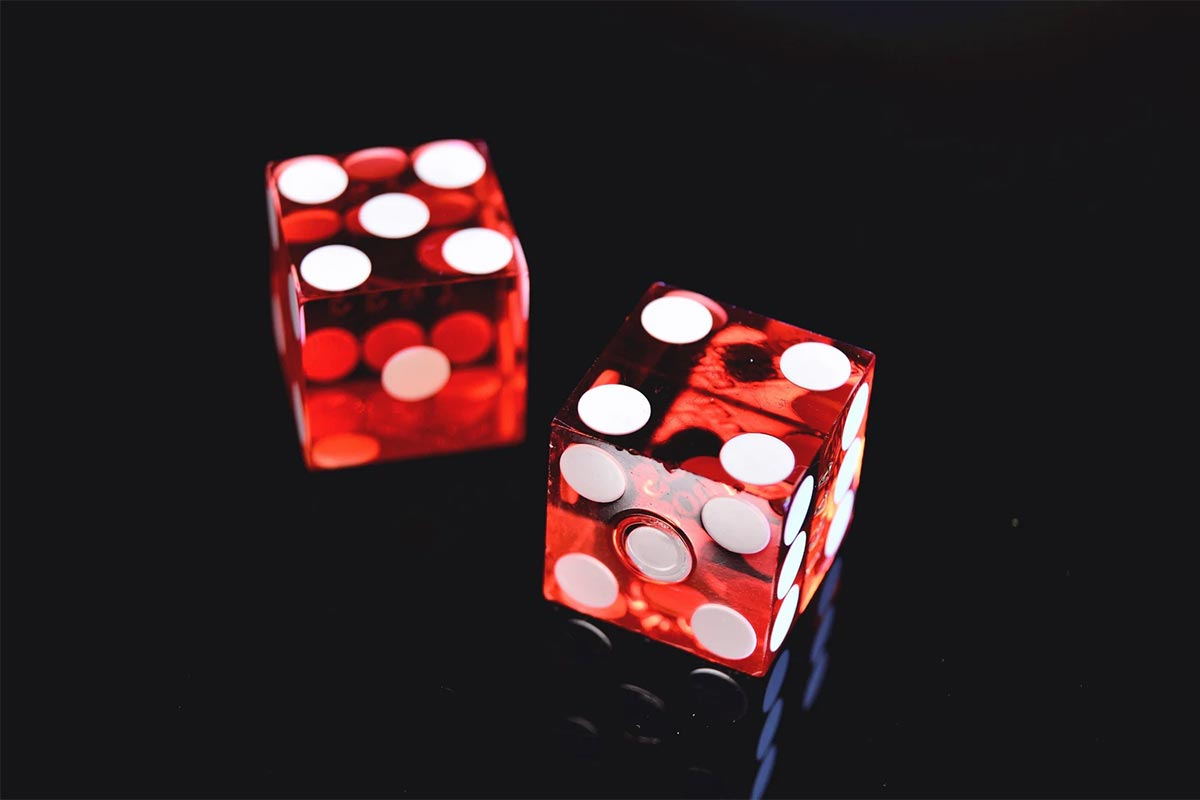 How do they test casino dice